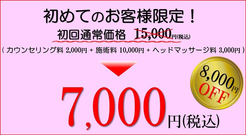 小顔歪み矯正 プリュムレーヴ 初回お試し価格 8,000円OFF