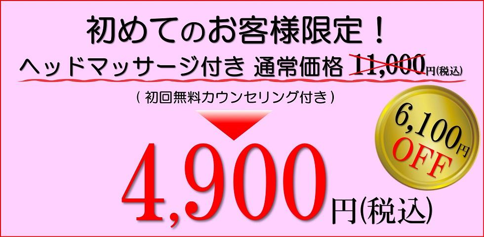 小顔歪み矯正 プリュムレーヴ 初回お試し価格 6,100円OFF